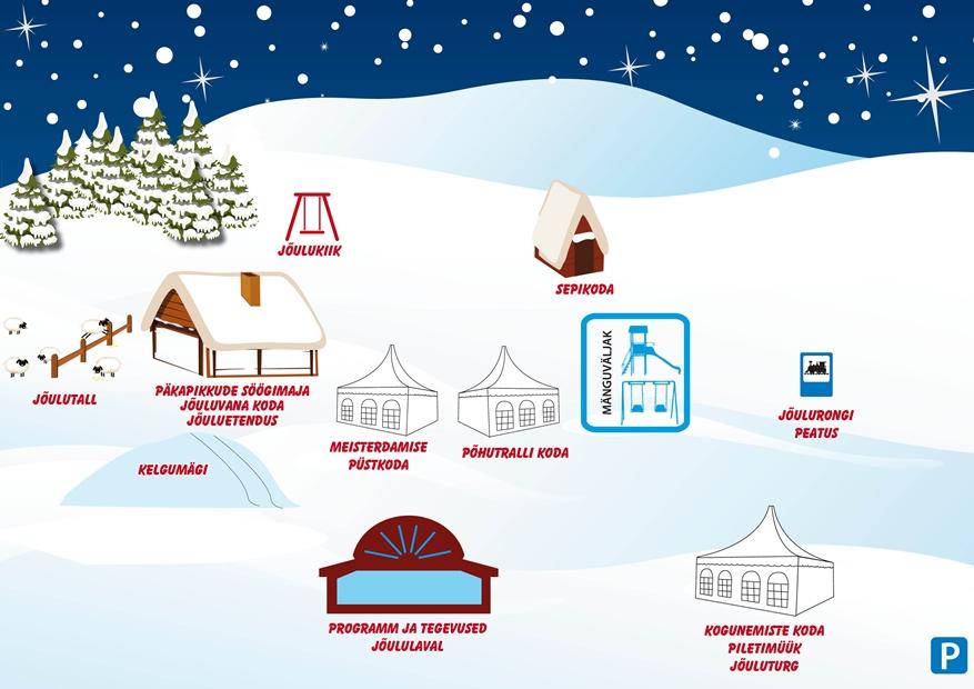 Jõulumaa plaan